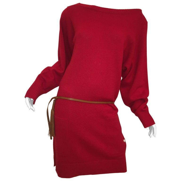Hermes Cashmere Sweater Dress