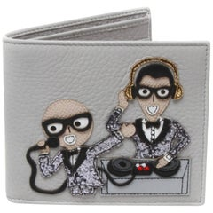 Dolce and Gabbana DJ Bi-Fold Wallet