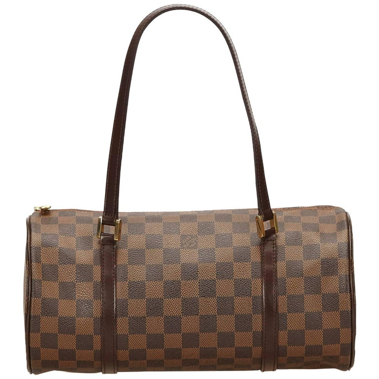 Louis Vuitton Brown Damier Ebene Papillon 30 For Sale at 1stdibs 9df4a59435