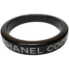 Vintage Chanel Coco Chanel Bracelet Bangle Diameter 6.5 cm