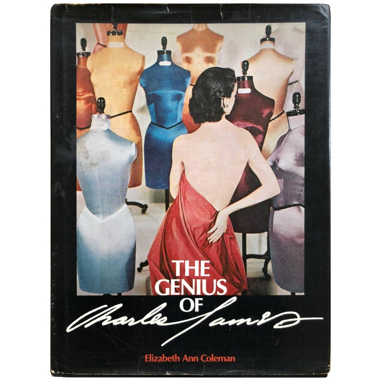 The Genius of Charles James Brooklyn Museum Exhibition Book 1982 E A Coleman