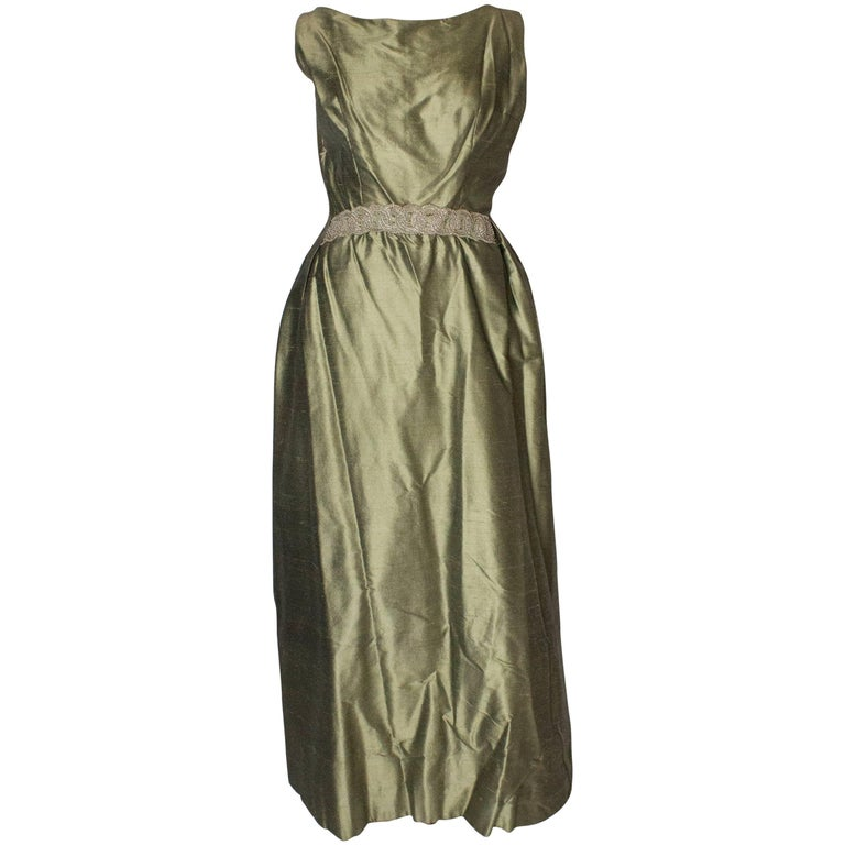 Vintage Muriel Martin For Harvey Nichols Ball Gown For Sale at 1stdibs
