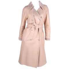 Chanel Trenchcoat - beige lambskin leather