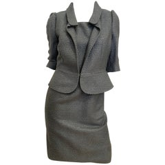 Fendi 2 Piece Tweed Dress Set