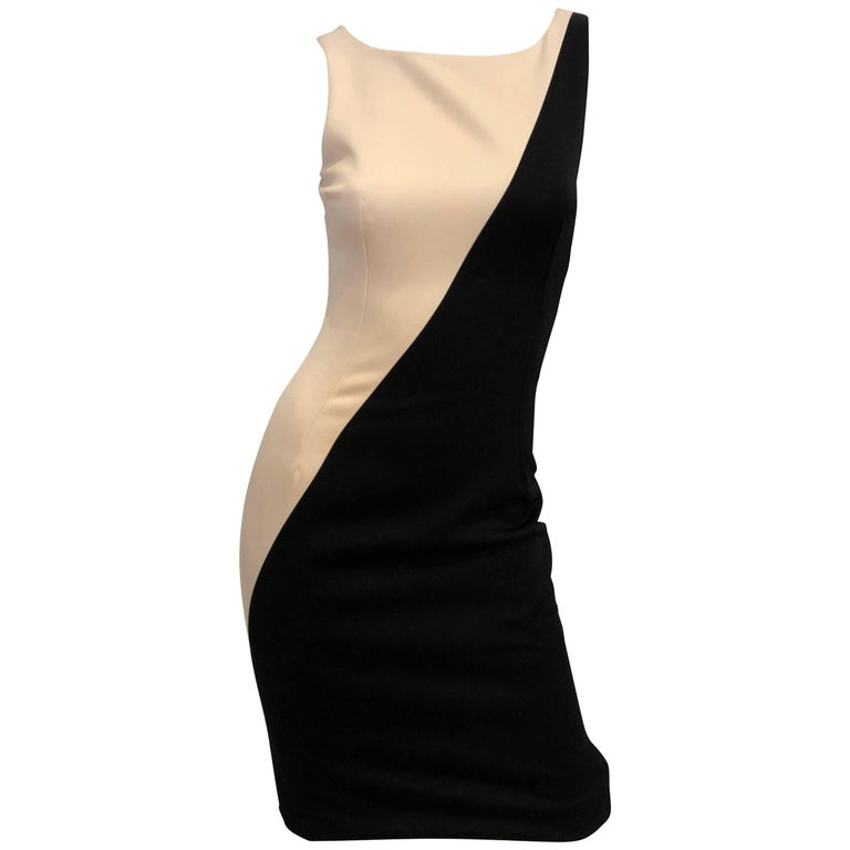 Dolce & Gabbana Colorblock Sheath Dress