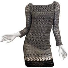 Missoni Black/White Knit Dress