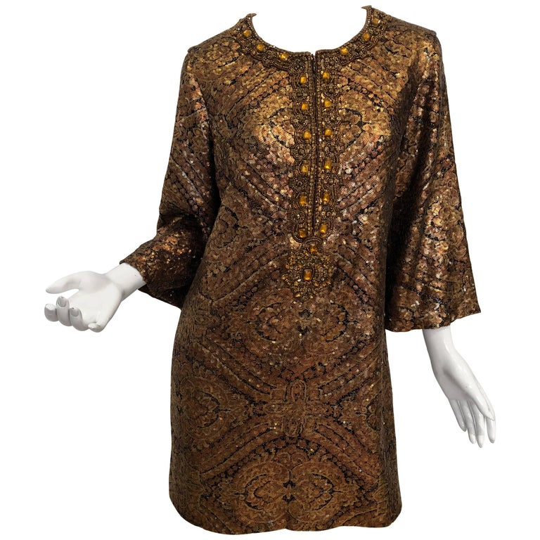 Andrew GN Longsleeve Sequin Tunic
