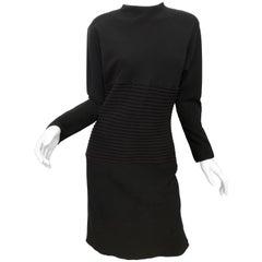 Jackie Rogers Long Sleeve Crepe Dress