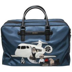 Dolce and Gabbana 'Family' Patch Travel Bag