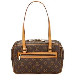 Louis Vuitton Brown Monogram Cite MM