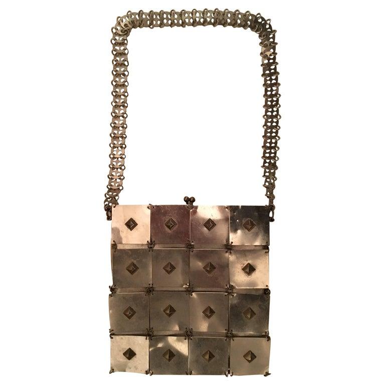 Paco Rabanne Rare and iconic metal bag.