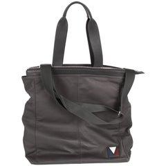 Louis Vuitton V-Line Move Leather Tote Shoulder Bag - asphalt gray