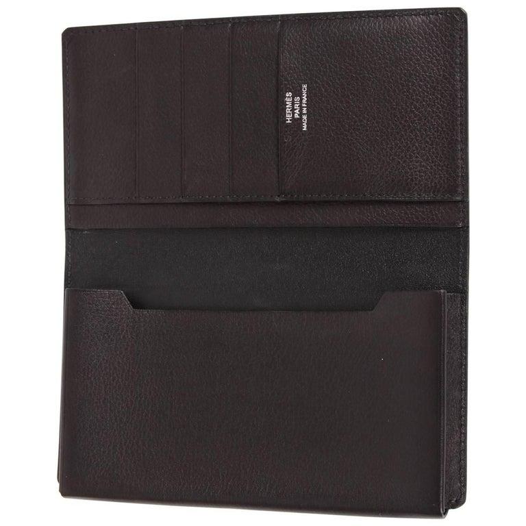 Hermes Leather Smart Case L - black
