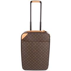 Louis Vuitton Pegase Legere Monogram Canvas Trolley 50 - dark brown