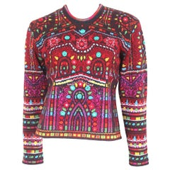 Kenzo Shisha Mirror Embroidered Sweater