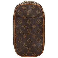 Louis Vuitton Brown Monogram Gange Pochette
