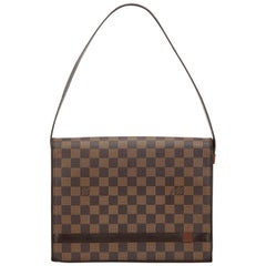 Louis Vuitton Brown Damier Ebene Tribeca Carre