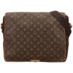 Louis Vuitton Brown Monogram Abbesses Shoulder Bag