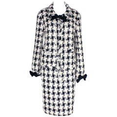 Chanel Signature Lesage Fantasy Tweed Skirt Suit