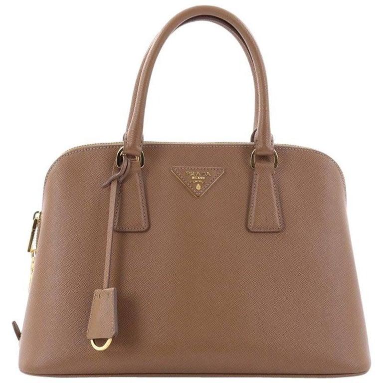 Prada Promenade Handbag Saffiano Leather Medium For Sale