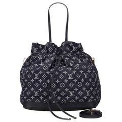 Louis Vuitton Blue Denim Noefull MM