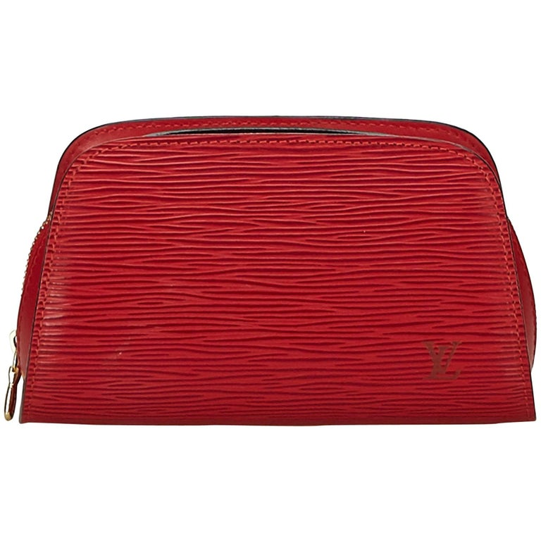 3cfce0f7d97c Louis Vuitton Red Epi Dauphine For Sale at 1stdibs