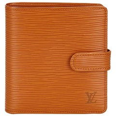 Louis Vuitton Brown Epi Porte Billets Compact Wallet