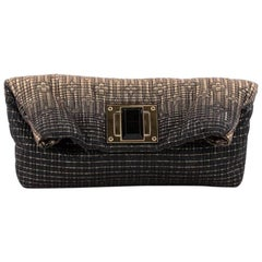 Louis Vuitton Altair Clutch Metallic Jacquard Textile