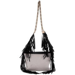 Lanvin Tribale Shoulder Bag Leather