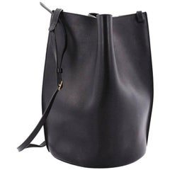 Celine Pinched Bag Leather Medium