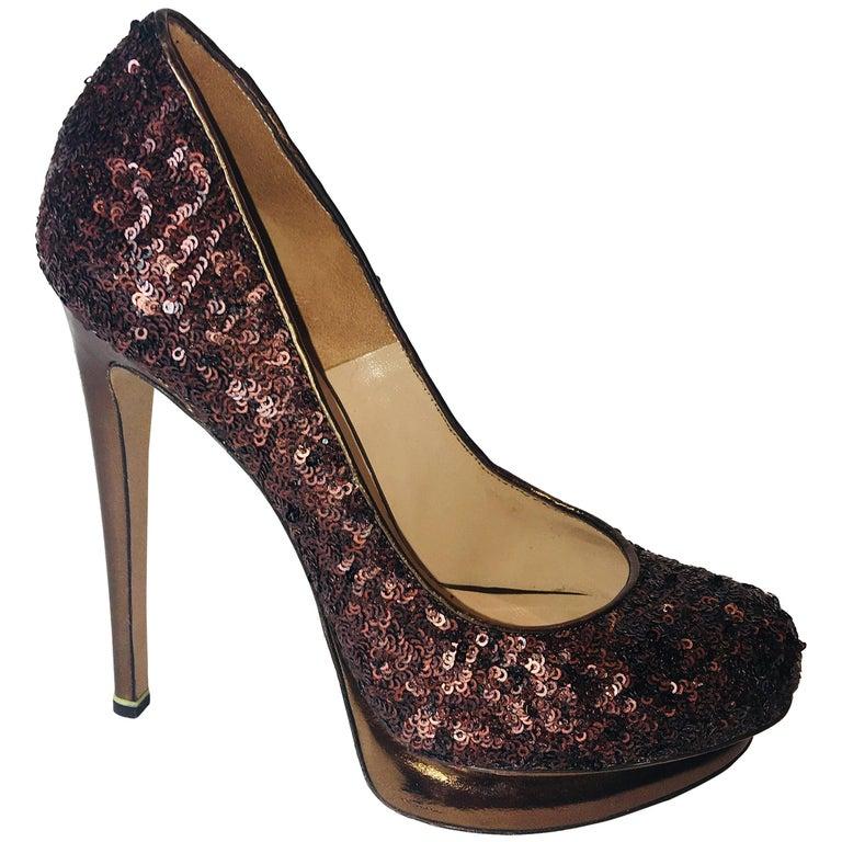 Nicholas Kirkwood Sequin Heels