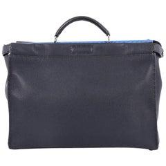 Fendi Selleria Peekaboo Handbag Leather Large
