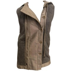 Stella McCartney Hooded Quilted Vest