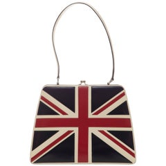 Moschino Union Jack Handbag