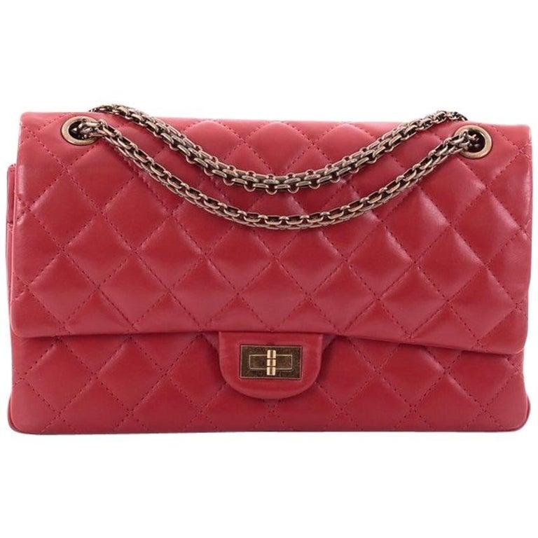 8b73945bda6d22 Chanel Reissue 2.55 Handbag Quilted Lambskin 226 at 1stdibs