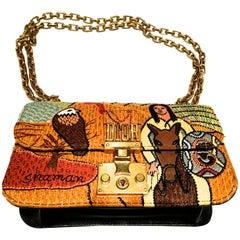 Christian Dior Bag - Rare - Shaman of Discs - Tarot Collection