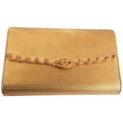 1950s Coblentz Golden Metal Clutch