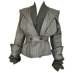 Vivienne Westwood Metallic Grey  Jacket