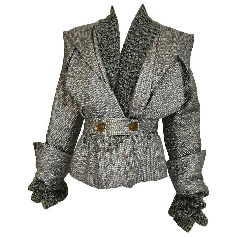 Vivienne Westwood Metallic Grey  Jacket
