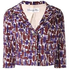 Christian Dior Multico Cotton Jacket