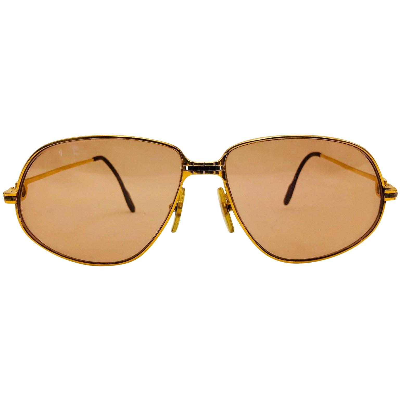 a7dc1184ec65 Cartier Vintage Panthere GM Sunglasses 59 14