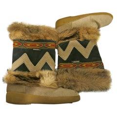 "1970s Oscar Sport ""Fur"" Winter Boots"