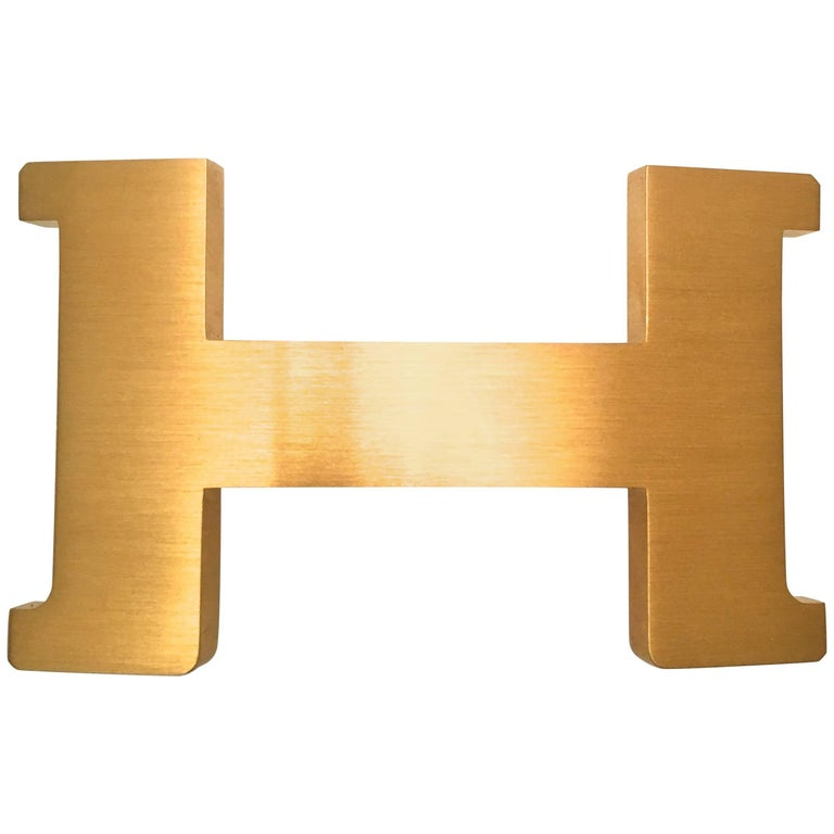 Hermes Buckle - Constance 2 / II - 42 - New - Brushed Gold