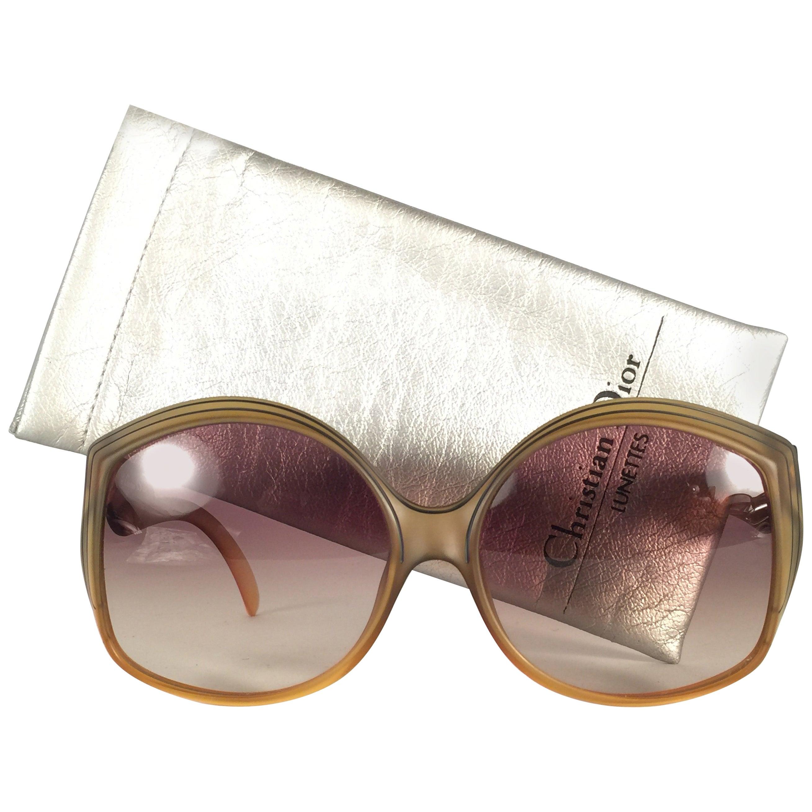 New Vintage Christian Dior 2041 10 Matte Optyl Sunglasses Austria