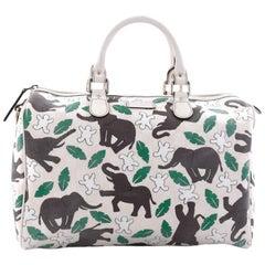 Gucci Unicef Joy Boston GG Coated Canvas Medium Bag