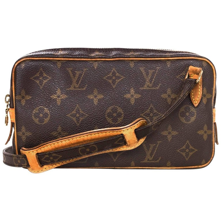 9d1598feb910 Louis Vuitton Vine Monogram Marly Bandouliere Crossbody Bag For. Louis  Vuitton Damier Ebene Canvas Rift ...