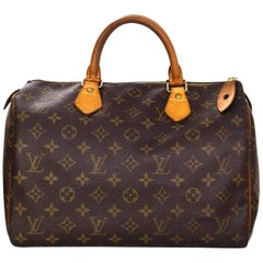 Louis Vuitton Vintage Monogram Speedy 30 Bag