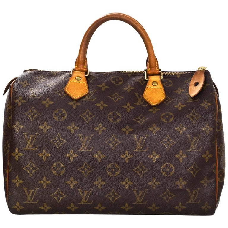 Louis Vuitton Vintage Monogram Speedy 30 Bag