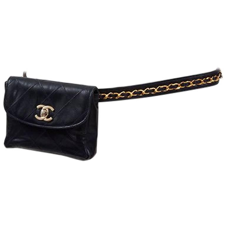 00b7e7aac5 Chanel Quilted Belt Bag