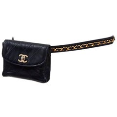 Chanel Quilted Belt Bag